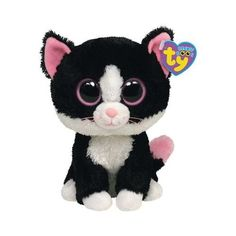 6b3d5c29076 Amazon.com  Ty Beanie Boos - Pepper the Cat  Toys   Games