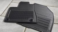 Genuine Toyota Highlander All-Weather Mat Set PT908-48140-20. 2014-2016 Highlander & Highlander Hybrid