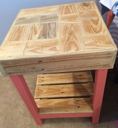 We have previously posted this type of table but we made this one a little different! Our store is completely customizable and you can really make a piece your own. We have a lot of exciting things coming up so keep following for the updates!!! #funwithpallets #pallet #woodworking #follow #cool #art #business #wood #modern #chic #rustic #decor #homedecor #home #house #housedecor