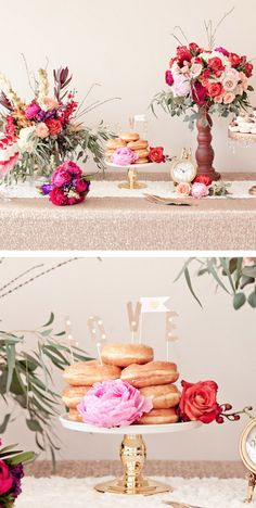 Pretty pops of color  -- Design and Styling by Candy Crush Shop + Blissful2Be, Photography + Florals by Studio Dizon,