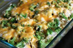 Broccoli Chicken Noodle Bake