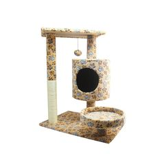 YUMU Cat Climber with Scratching Post 15.7w23.6L28.7H Cat Tree Tower Scratcher Furniture Kitten House MI002717 >>> Check this awesome product by going to the link at the image. (This is an affiliate link and I receive a commission for the sales)
