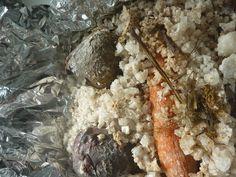 Carrots & Beetroots in Salt Crust