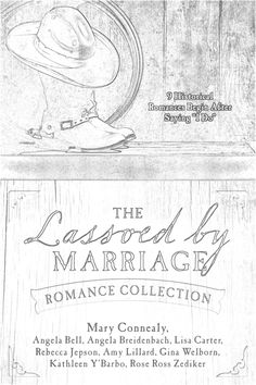 Lassoed By Marriage Book Cover And Coloring Page Jot Your Review Share It On