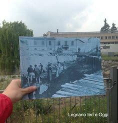 Deborah Corno, Legnano, Fiume Olona, 1934 e Oggi.