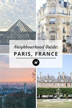 note: a guide to paris by neighbourhood.