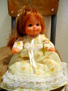 1976 Mattel Rosebud Doll Brown hair by happykristen