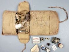 A ship captains sewing kit.