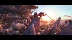 Moana-Kakamora Fight (HD)
