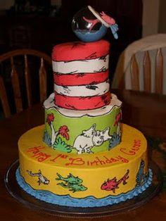 A Dr. Seuss Cake.