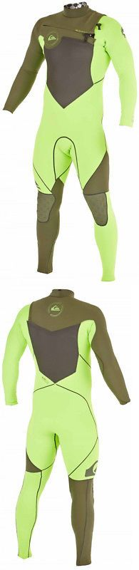 Men 16058: Quiksilver Ag47 Performance 3 2 Cz Wetsuit Mens -> BUY IT NOW ONLY: $188.95 on eBay!