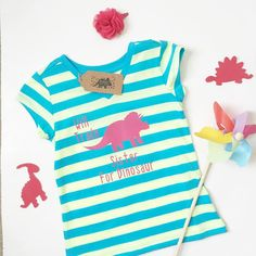 Who is ready to go have some fun?! Cute and stylish dinosaur shirts for girls!