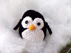 Crocheted penguin  <3princess