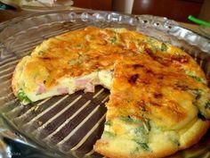 Um prato rápido para o jantar ,anote a receita    Ingredientes  3 ovos  sal a gosto  2 colheres (sopa) farinha de trigo (peneirada)  1 ramo de agrião  2 fatias de presunto (picadas)  2 fatias de