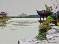 YUNLONG LAKE-I, Hong Haochang (洪浩昌; b1973, Zhaotaong, Yunnan, China)