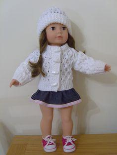 Ravelry: american girl dolls American Girl Waffle Pattern Set  by Jacqueline Gibb