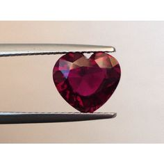Natural Unheated Ruby Red color heart shape carats with GIA Report / Jupitergem Natural Ruby, Valentine Day Gifts, Valentines, Ruby Red, Victorian Era, Color Heart, Vivid Colors, Red Color, Heart Shapes