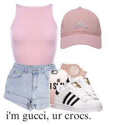 """""""I might go get me some money"""" by trvpgirl-a ❤ liked on Polyvore featuring adidas Golf, Casetify, adidas and Michael Kors"""