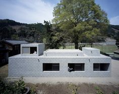 Built by Takao Shiotsuka Atelier in Saiki, Japan with date 2008. Images by Toshiyuki YANO (Nacasa & Partners Inc.. The cottage in the silent village between mountains. We wished to make the silence a space. It seemed to me that the ...