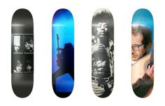 Music Tribute Decks via Luis Rodrigues | Radical Decks for National Go Skateboarding Day