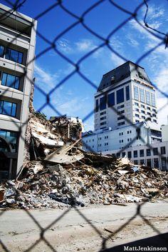 Manchester Courts Demolition