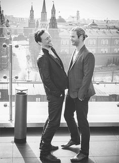 Loki and Thor.