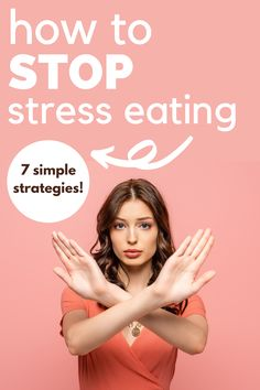 Looking for stress eating remedies? I've got 7 helpful nutrition tips for emotional eating in this post! Get back on track with your healthy eating plan with these great tips.