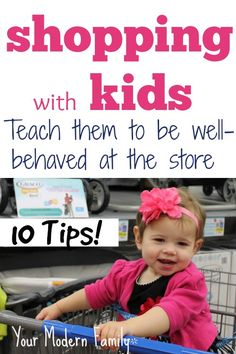 TEN tips to have a CALM shopping trip with the kids:   #MC, #sponsored, #Urbini