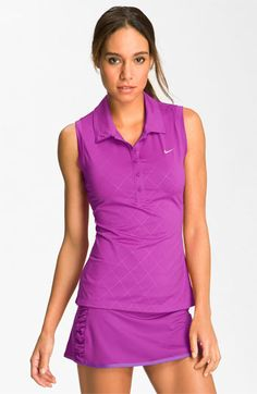 Magenta Tennis outfit!
