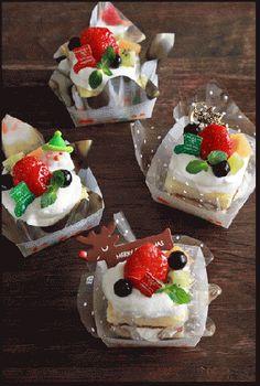 トイロさんちのあれこれ~簡単おやつや好きなもの~「クリスマスのココットケーキ」 | お菓子・パンのレシピや作り方【corecle*コレクル】
