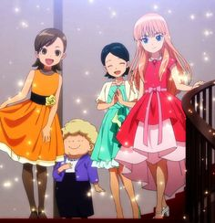 Anna, Black Anime Characters, Anime Girl Neko, Inazuma Eleven Go, Beautiful Anime Girl, Cute Anime Guys, Chibi, Anime Art, Kawaii