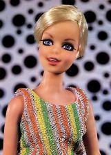 Twiggy doll by Mattel - 6 page article - mod era Barbie friend