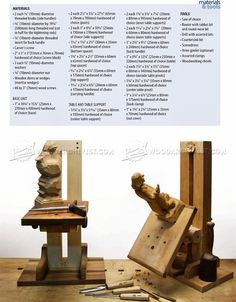 Build Your Own Carving Stand - Wood Carving