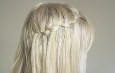 #blonde #braid
