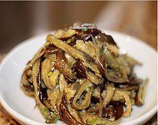 Баклажанный салат по-корейски.