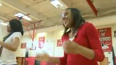 Blind cheerleader has spirit, swagger to spare.