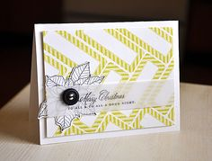 Love the use of a label stamp. By Maile Belles
