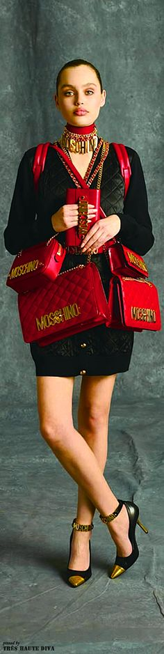 Moschino Pre-Fall 2014 http://www.vogue.com/fashion-week/pre-fall-2014/moschino/runway/#/collection/runway/pre-fall-2014/moschino/32
