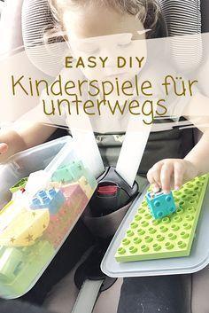 Top 5 Kinder Reisespiele für eine entspannte Reise! Endlich happy im Urlaub ankommen: Kinder Reise-Gadgets ganz einfach selbst gemacht. Wie das geht, zeige ich euch im Artikel!