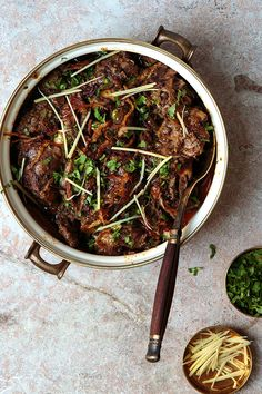 Spicy, luxurious lamb shank stew