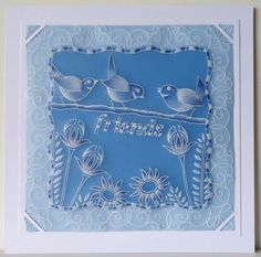 Dee Paramour design Hobbies And Crafts, Crafts To Make, Barbara Gray, Parchment Cards, Marine Life, Quilling, Make It Simple, Card Ideas, Paper Crafts