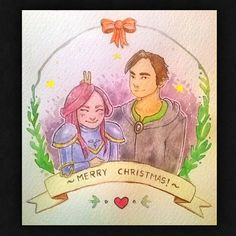 We wish you a Merry Christmas with Anne White & Erik Skera!