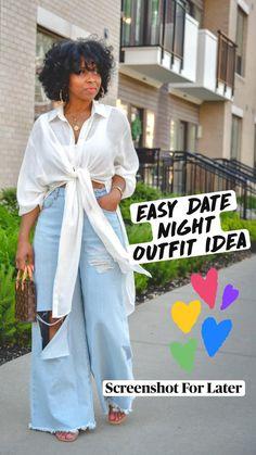 Black Girl Fashion, Women's Summer Fashion, Curvy Fashion, Plus Size Fashion, Fashion Looks, Fashion Edgy, Fashion 2018, Fashion Trends, Night Outfits