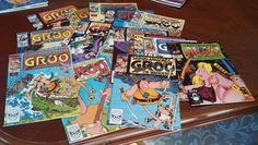 GROO THE WANDERER LOT! 15 Issues! Marvel/Epic,Pacific Sergio Aragones-all NM