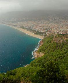 Alanya Kalesinden Antalya tarafı