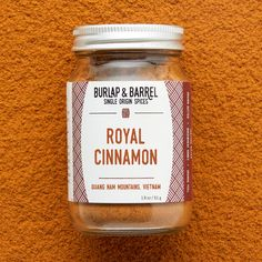 Royal Cinnamon – Burlap & Barrel