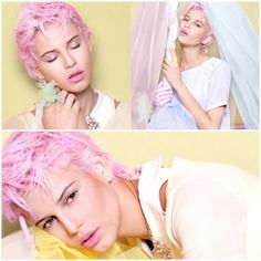 Hair Color & Cut Inspiration: Bubblegum Pixie | StyleNoted