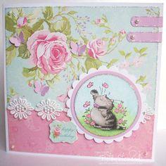 Beth's Little Card Blog: Penny Black Saturday #140!