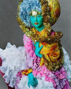Vogue US Dec. 2002 - Joy to the World by Steven Meisel