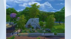 Check out this lot in The Sims 4 Gallery! -  #NOCC #Larifari2009 #hovel #cozy #fantasy #fairytale